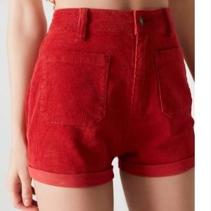 Rolla's Urban outfitters High Rise Corduroy Short